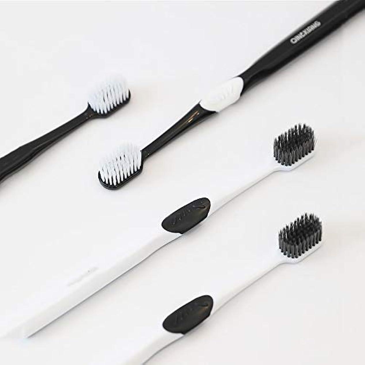 摂動原子ディレイ歯ブラシ 8本の歯ブラシ、歯茎のための新しい小さなブラシヘッド歯ブラシ、バルクアダルトソフト毛先歯ブラシ、ケア HL (サイズ : 8 packs)