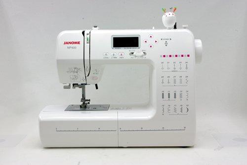 ジャノメ コンピュータミシン「NP400」(JP310最新モデル)