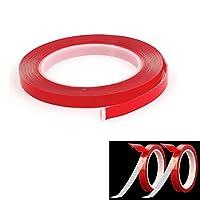 (2本セット)超強力 透明両面テープ クリアテープ  構造用接合テープ  素敵な粘着性 耐熱性 DIY接着用 精密部品の接着も適用  幅10mm×長さ3m×厚さ0.8mm