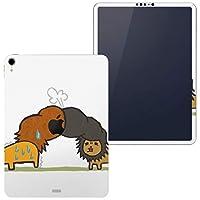 igsticker iPad Pro 11 inch インチ 対応 apple iPad Pro11 シール アップル アイパッド A1934 A1979 A1980 A2013 iPadPro11 全面スキンシール フル 背面 側面 正面 液晶 タブレットケース ステッカー タブレット 保護シール 人気 動物 リーゼント イラスト 005887