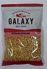 Galaxy Foods Popping, Corn, 1 kg