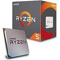 AMD CPU Ryzen 5 2600 with Wraith Stealth cooler YD…