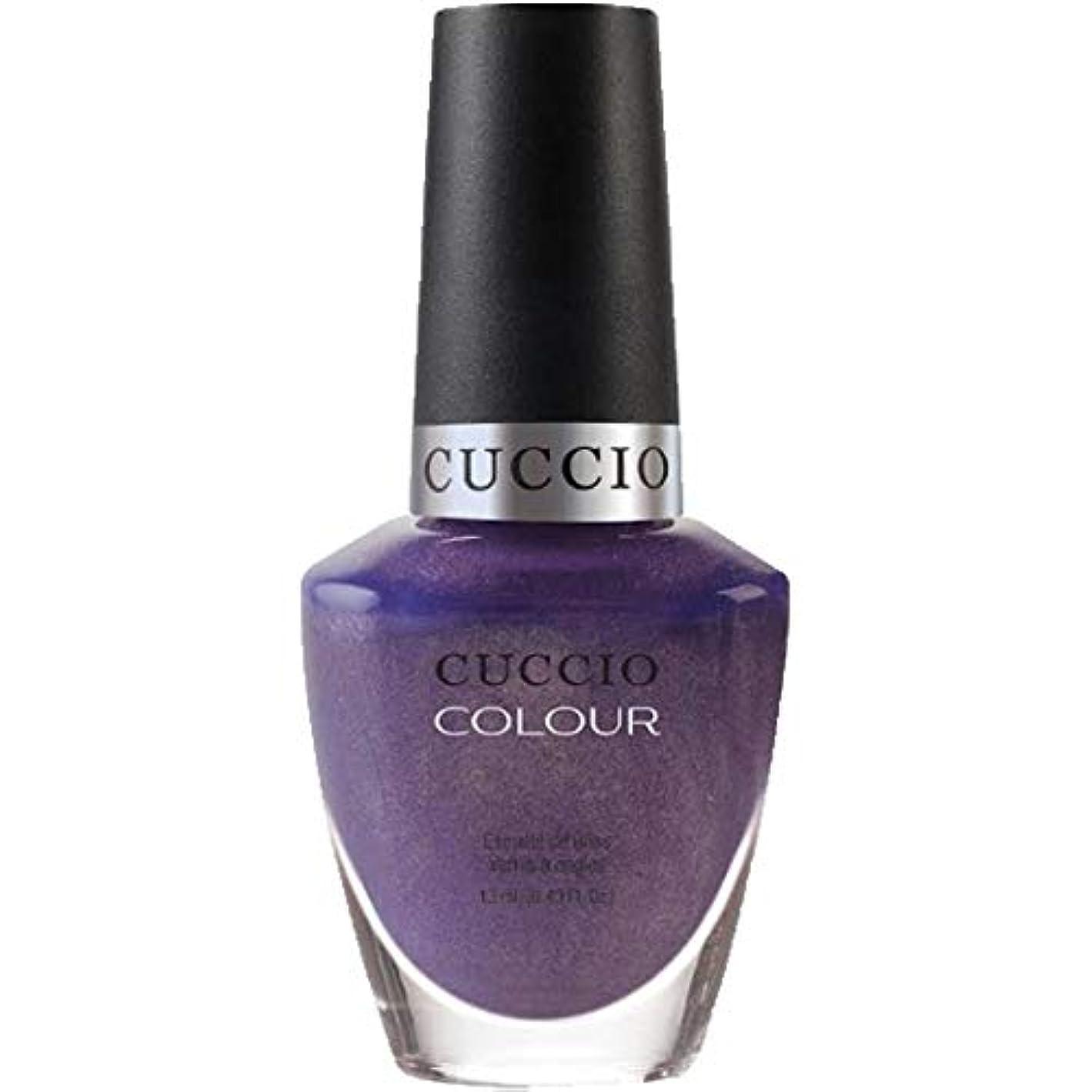 パトロン悲劇タヒチCuccio Colour Gloss Lacquer - Touch of Evil - 0.43oz / 13ml