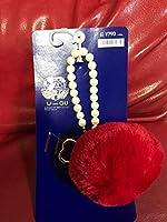 セーラームーン×GU25周年記念 コラボ キーチェーン 赤色 セーラーマーズボンボンバッグチャーム