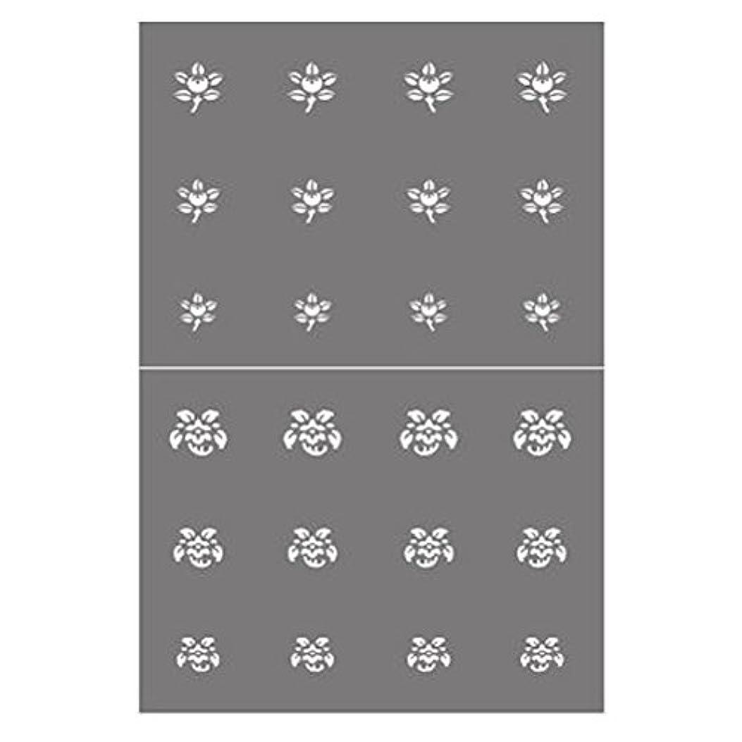 高架壁紙葉っぱステンシル NSK-66