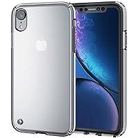 エレコム iPhone XR ケース 衝撃吸収 TRANTECT ハイブリッド 【iPhoneを美しく守る。】 クリア PM-A18CHVCCR