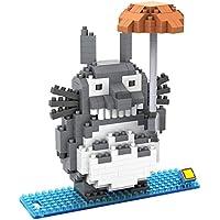 GinCuky となりのトトロ 組み立てブロック 3D アニメモデル 子供用 (6歳以上)