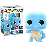 Funko POP! Games: Pokemon - Squirtle [Flocked] #504 Exclusive