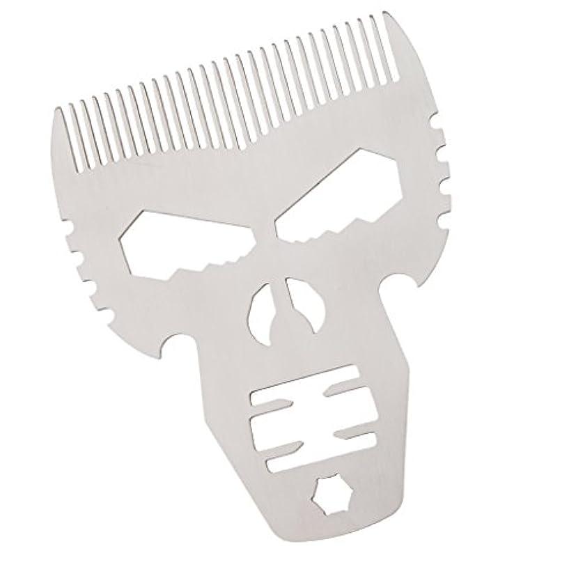 またはつまらない伝統ビアードコーム 口髭ブラシ ヘアケア 櫛