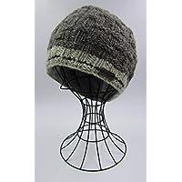 ドイツ発(MOSHIKI BRAND):メンズ ビーニー型ニット帽子:BARBAN