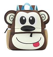 Shinybaby Little Kids Backpack 3D Animal Cartoon Waterproof Preschool Lunch Bag for Toddlers [並行輸入品]