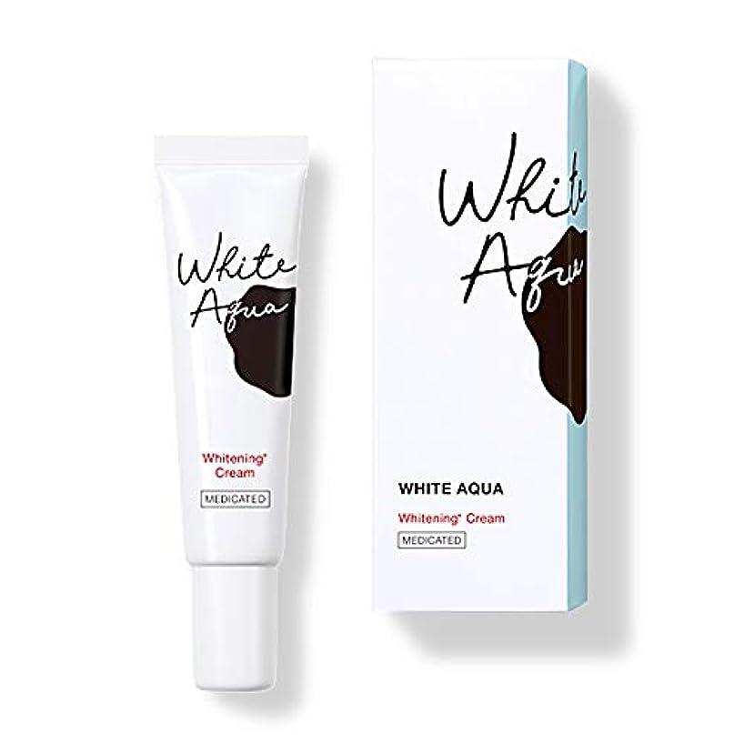 無駄に美徳以前はホワイトアクア WHITE AQUA 薬用スポッツ美白クリーム