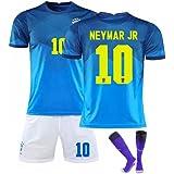 ネイマール サッカーユニフォーム ブラジル代表 ホーム 上下セット 背番号10 レプリカサッカーユニフォーム 子供用 ジュニア GV オリジナルセット商品