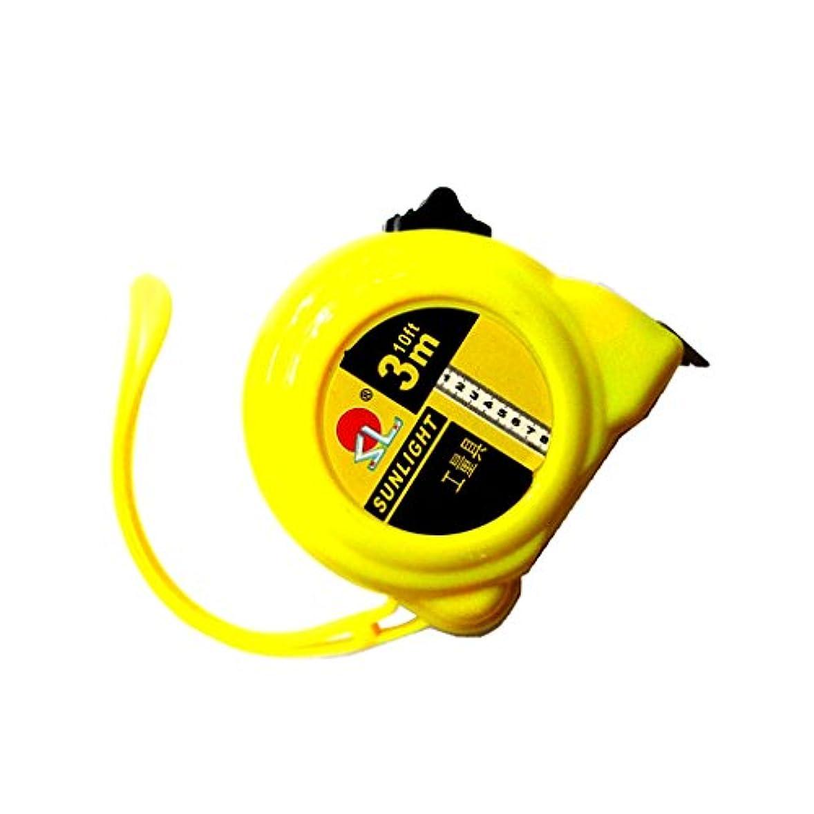 レポートを書くリア王余剰Baosity 巻き尺 テープメジャー インチ/メトリック 伸縮式 測定ツール 3メートル/5メートル