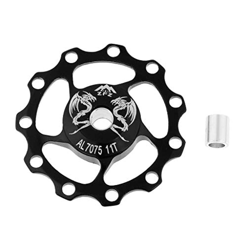 規模バウンス付けるBaoblaze 耐久性 アルミ合金 11T 自転車用 ジョッキーホイール リアディレイラー プーリー 全4色