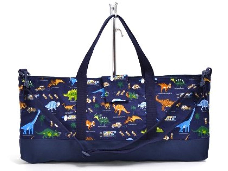 ピアニカケース スタンダード 鍵盤ハーモニカ バッグ 袋 発見! 探検! 恐竜大陸(ネイビー) N4323300