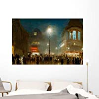Strand London Theater Time Wall Mural by Wallmonkeys Peel and Stick Graphic (60 in W x 39 in H) WM46543 [並行輸入品]
