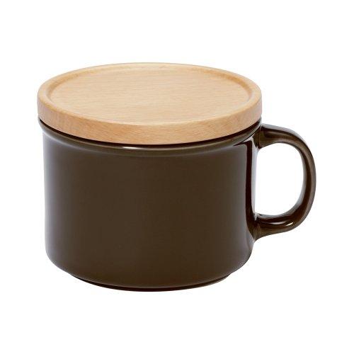 RoomClip商品情報 - イデアコ キャニスター マグカップ S ブラウン