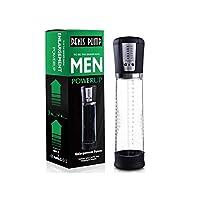 より強くより大きい建設のための4つの吸引の強度の自動Pen'sの真空ポンプ、容易な観覧のための明確なシリンダーが付いているDhloverの電子男性の強化のPen'sポンプ