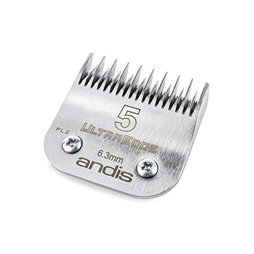 耐えられないオデュッセウス状態アンディス 64079 ウルトラエッジ 5 スキップ ツゥース ブレード 6.3mm[海外直送品] [並行輸入品]