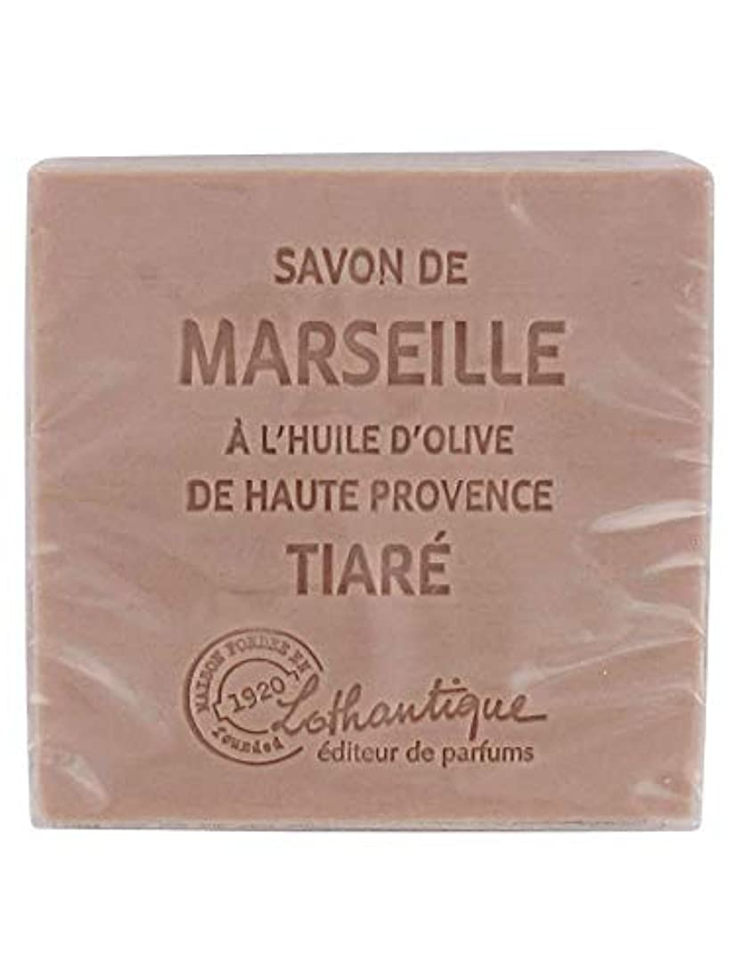 発揮する変更可能対処Lothantique(ロタンティック) Les savons de Marseille(マルセイユソープ) マルセイユソープ 100g 「ティアラ」 3420070038098