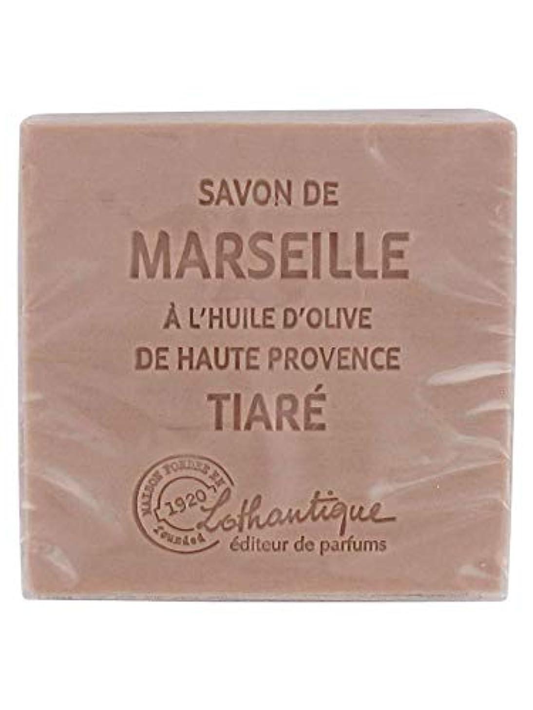 液体慈悲深い破産Lothantique(ロタンティック) Les savons de Marseille(マルセイユソープ) マルセイユソープ 100g 「ティアラ」 3420070038098