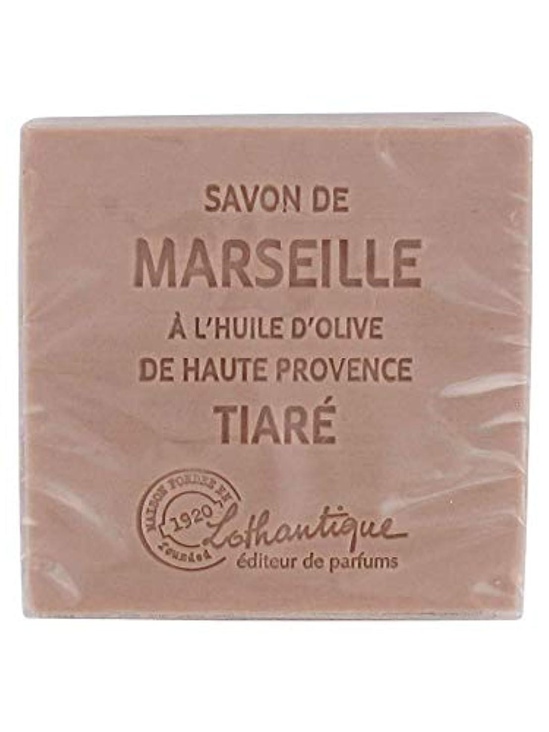 放散する突撃オゾンLothantique(ロタンティック) Les savons de Marseille(マルセイユソープ) マルセイユソープ 100g 「ティアラ」 3420070038098