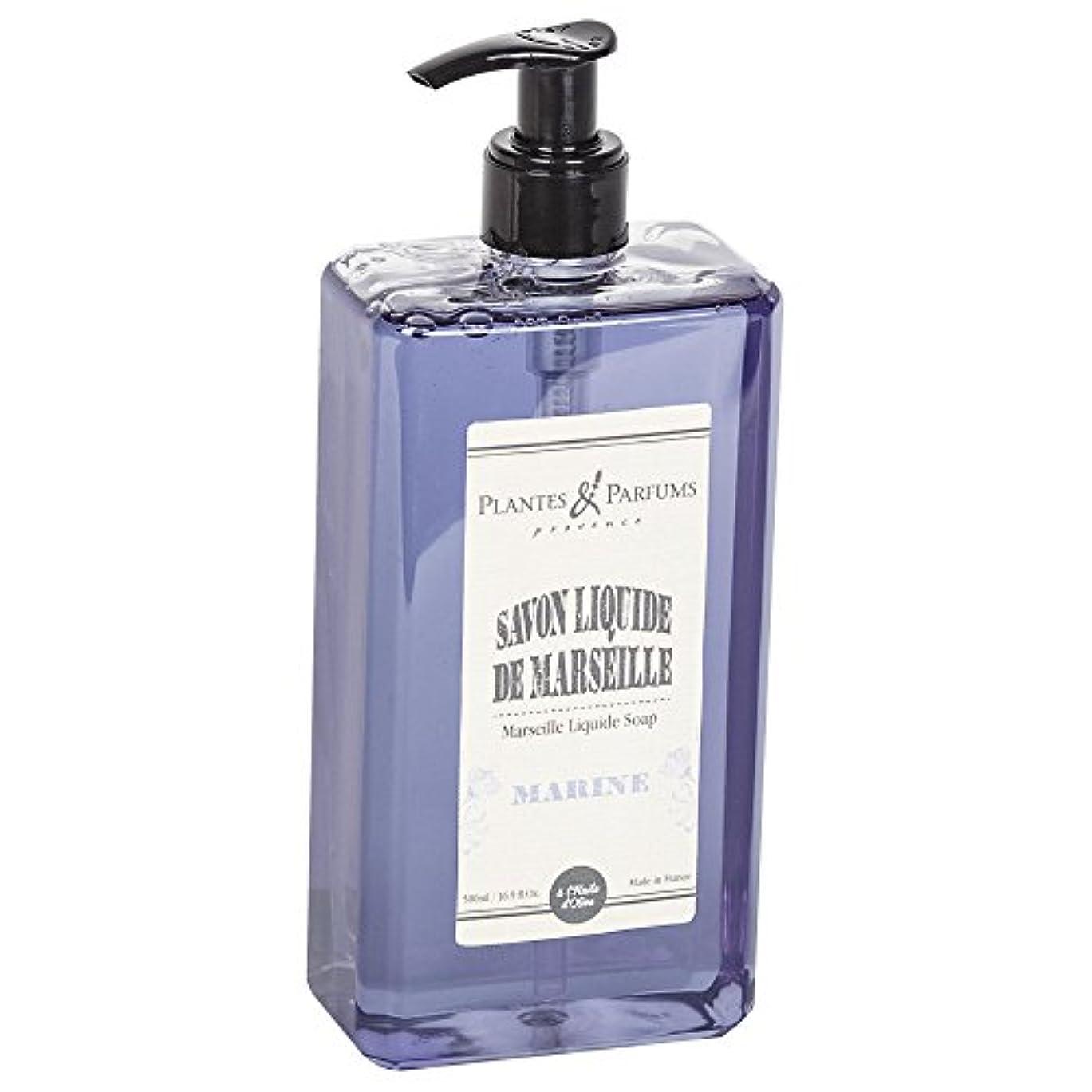 アーカイブカウンタ敏感なPlantes&Parfums [プランツ&パルファム] マルセイユリキッドソープ マリーン