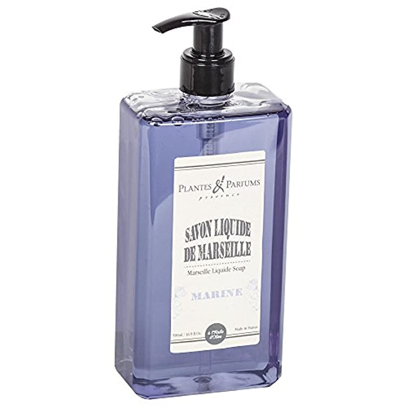 にはまってチューブラオス人Plantes&Parfums [プランツ&パルファム] マルセイユリキッドソープ マリーン