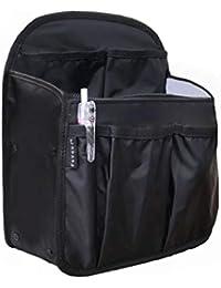 バッグインバッグ リュック用 バックインバック タテ型 A4 自立 軽量 ナイロン