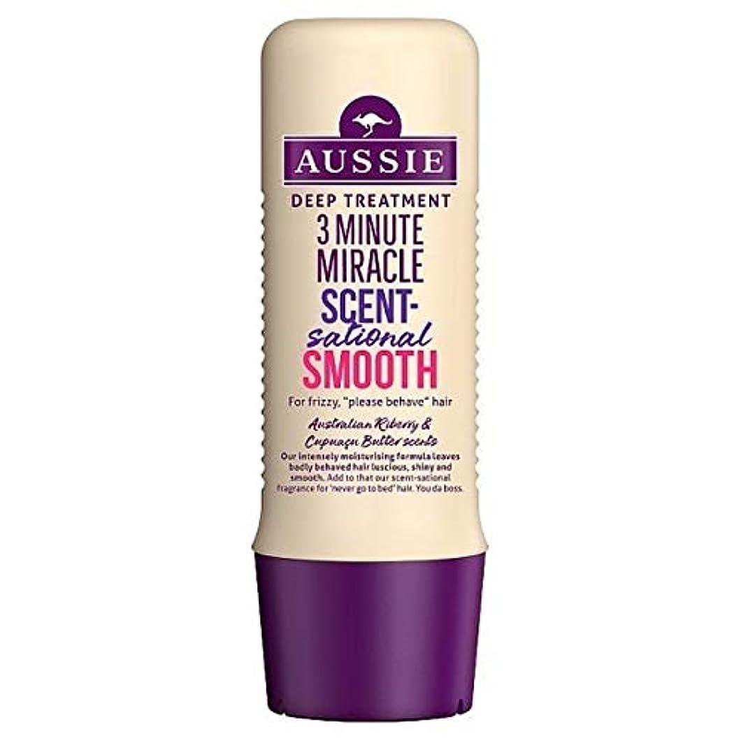 超越する朝ごはん浴室[Aussie ] オージー3分の奇跡Scentsational Shampo 250ミリリットル - Aussie 3 Minute Miracle Scentsational Shampo 250ml [並行輸入品]