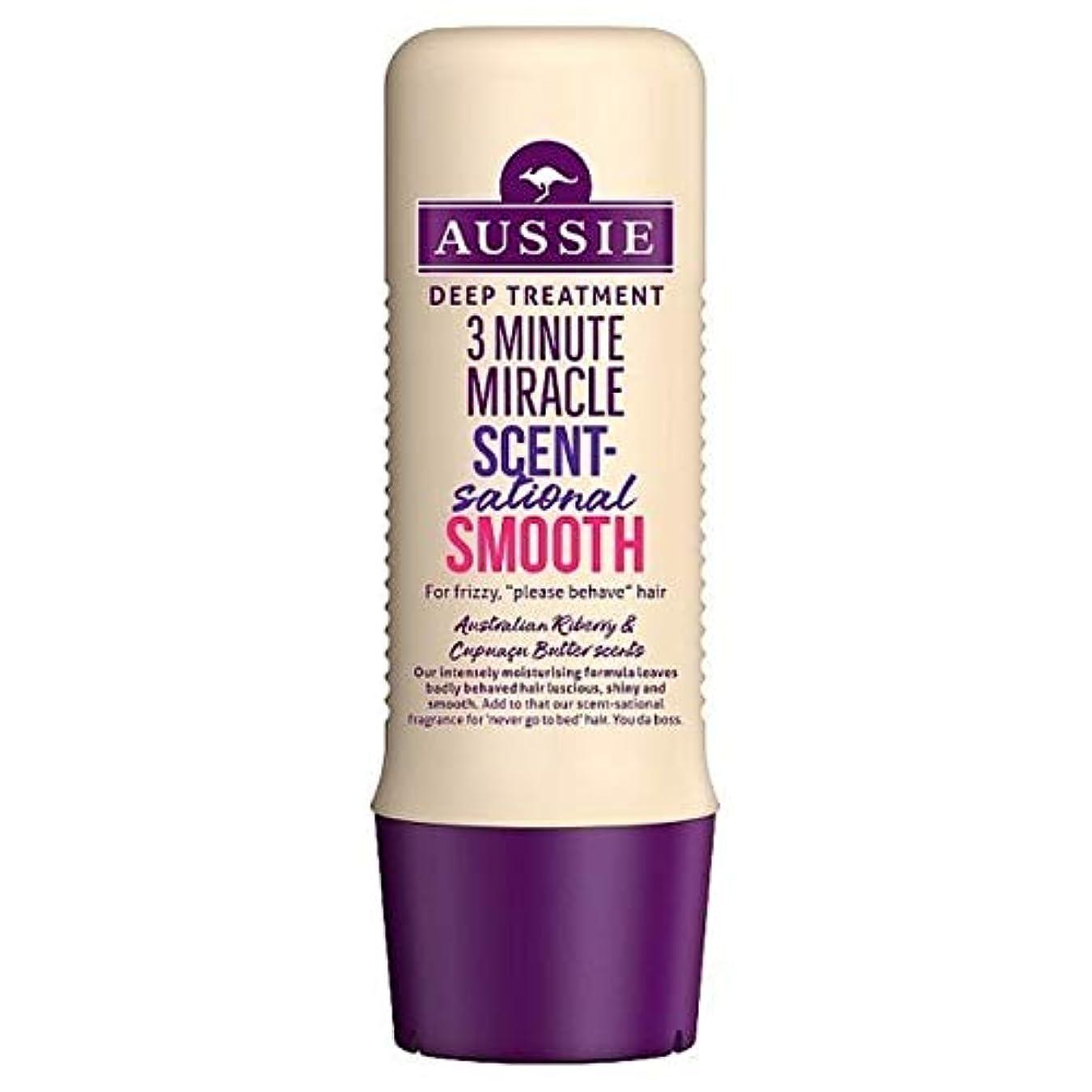 テキストトン見せます[Aussie ] オージー3分の奇跡Scentsational Shampo 250ミリリットル - Aussie 3 Minute Miracle Scentsational Shampo 250ml [並行輸入品]