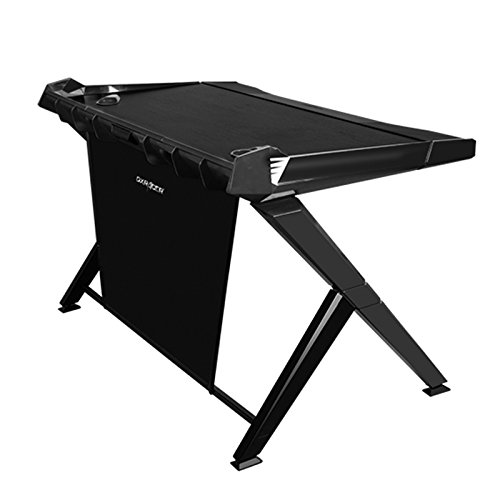 DXRACER ゲーミングデスク GD-1000BK ブラック -