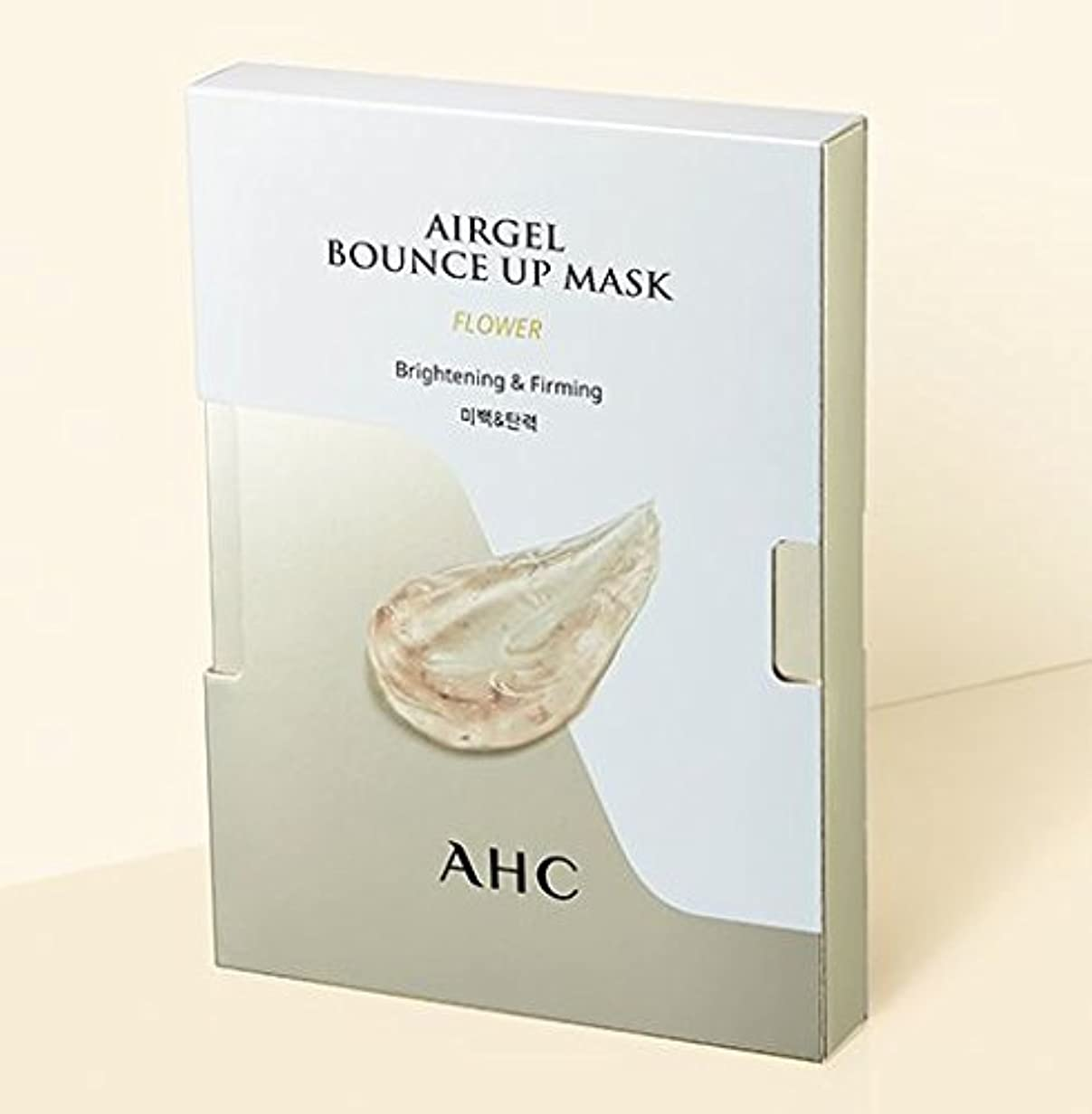 寄り添う急ぐ肌寒い[A.H.C] Airgel Bounce Up Mask FLOWER (Brightening&Firming)30g*5sheet/フラワーエアゲルマスク30g*5枚 [並行輸入品]