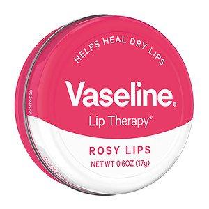 可愛い缶入り! Vaseline Lip Therapy <ヴァセリン リップセラピー> 17g Rosy...