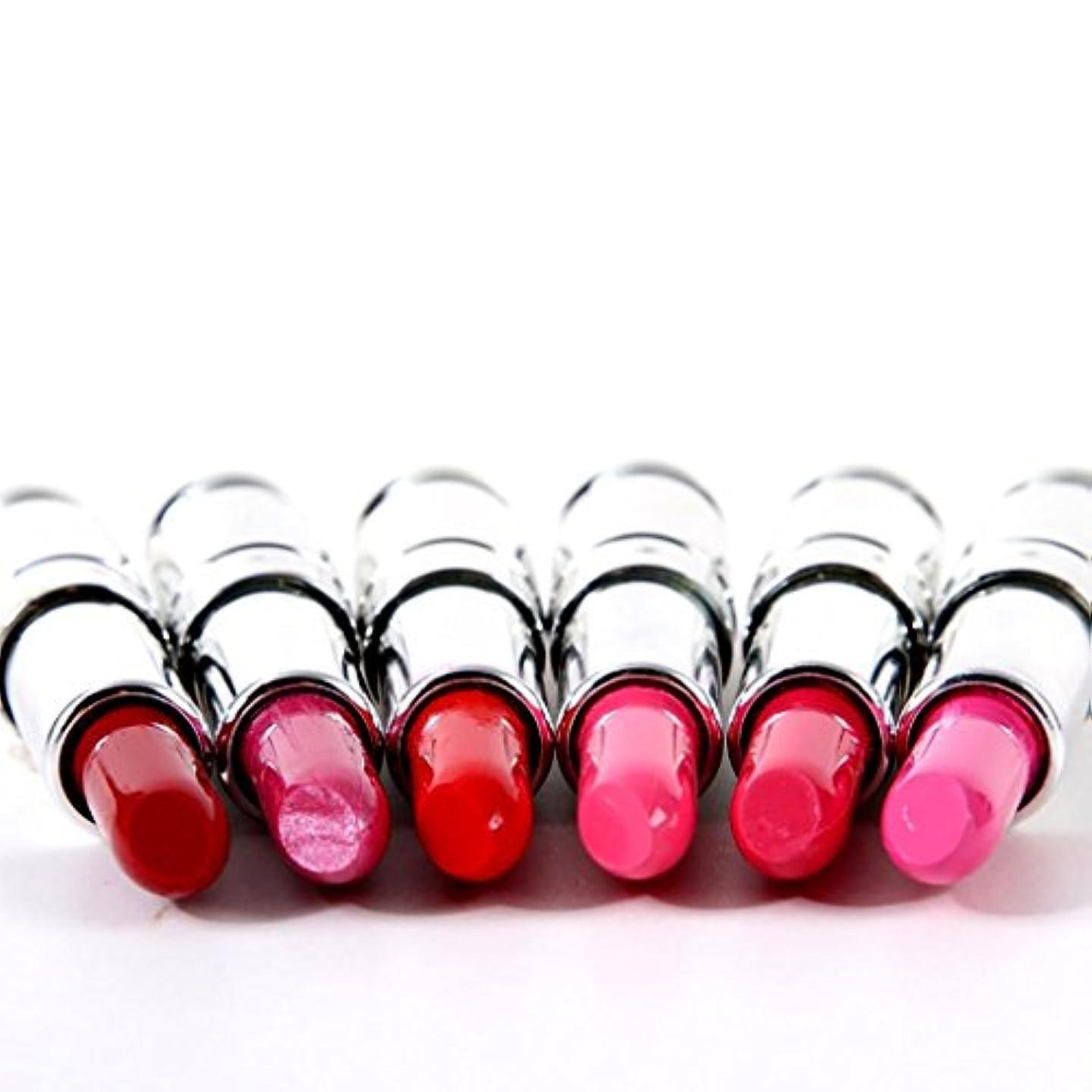 エクステント提唱するオーストラリア人リップスティック 口紅 セット 潤い 人気色 唇メイク 6色入り