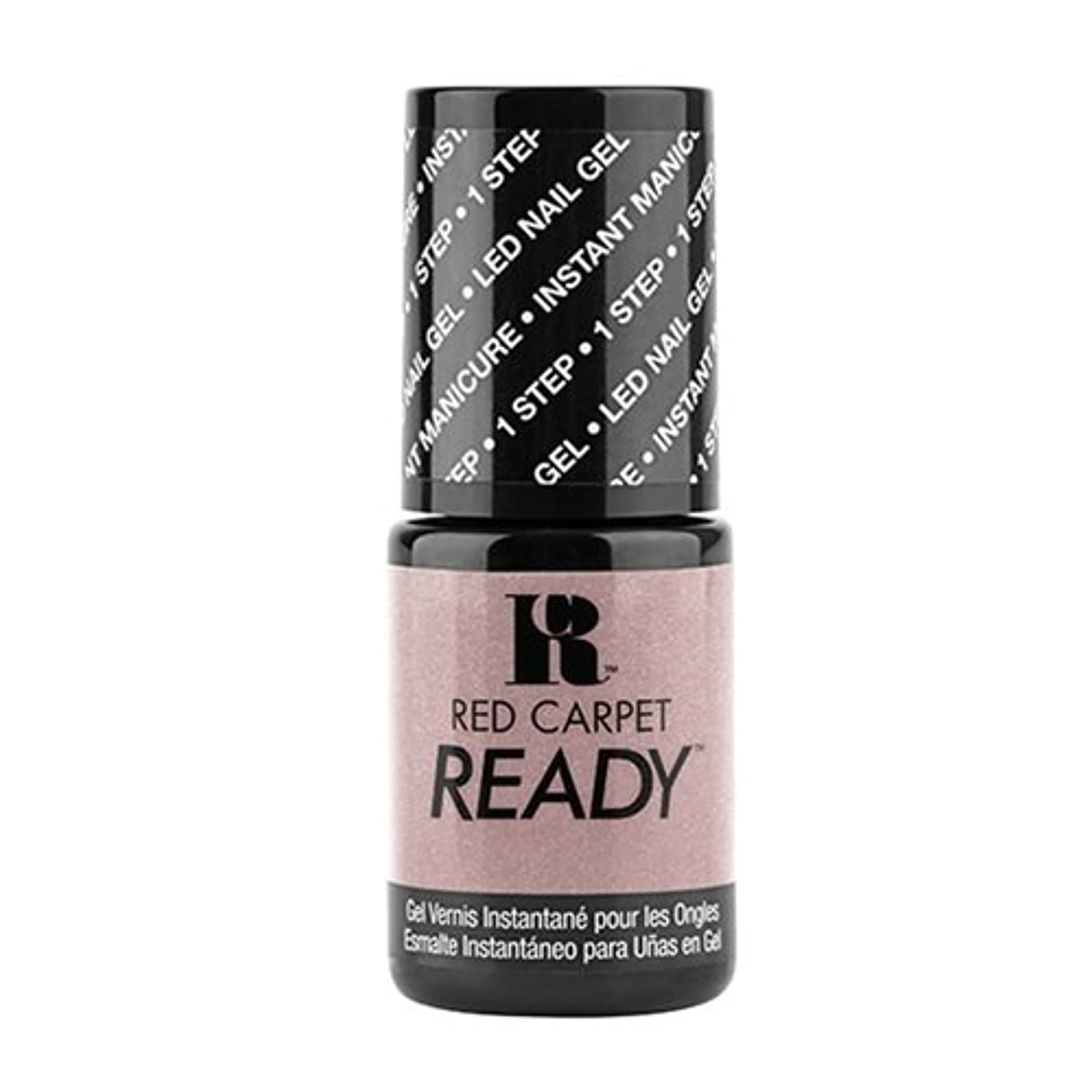 暖かさ支配的ゆりかごRed Carpet Manicure - One Step LED Gel Polish - Bottle Poppin' - 0.17oz / 5ml