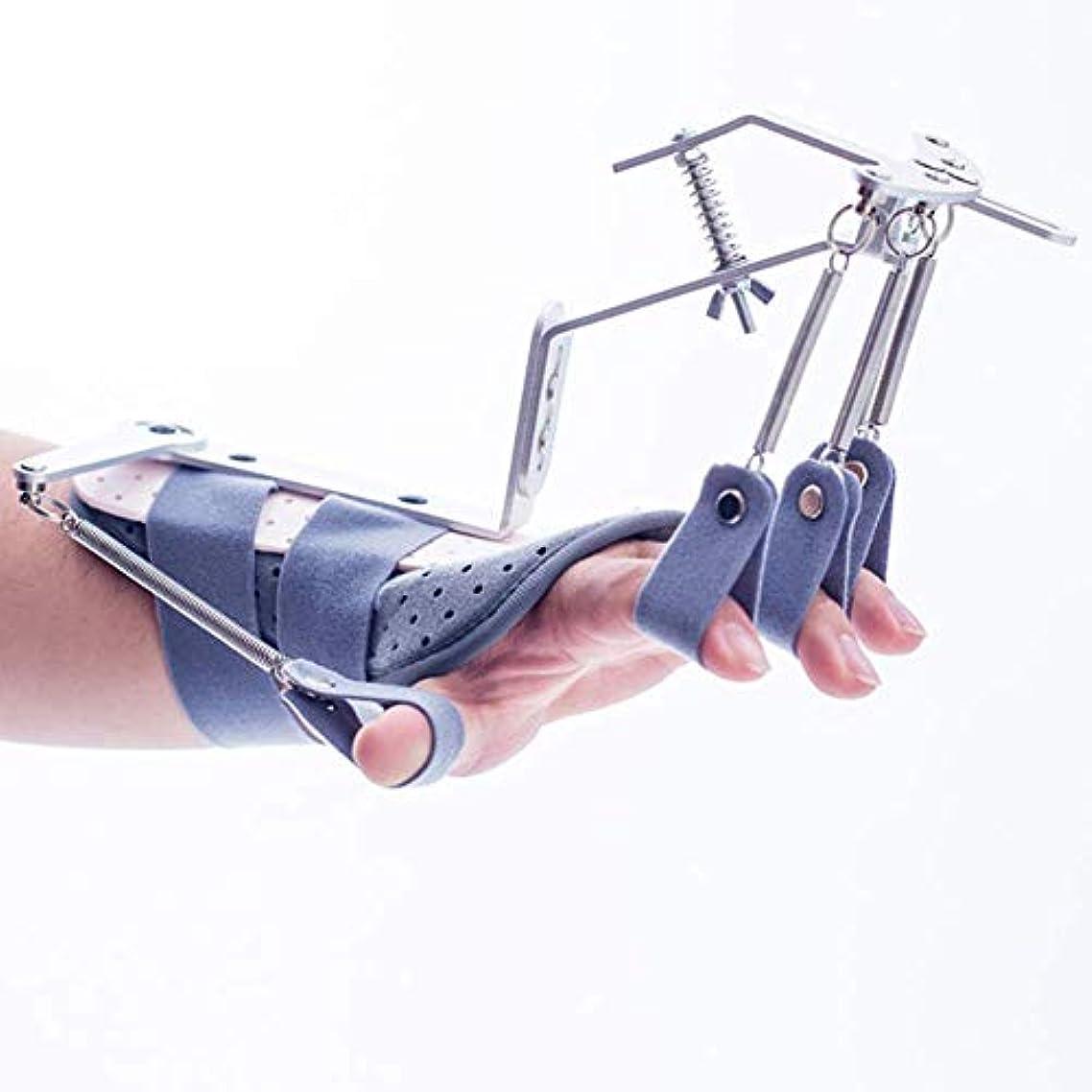 揮発性修復患者指の損傷のサポート、指の副木サポート、手首、手首の親指装具サポート、リハビリテーショントレーニング