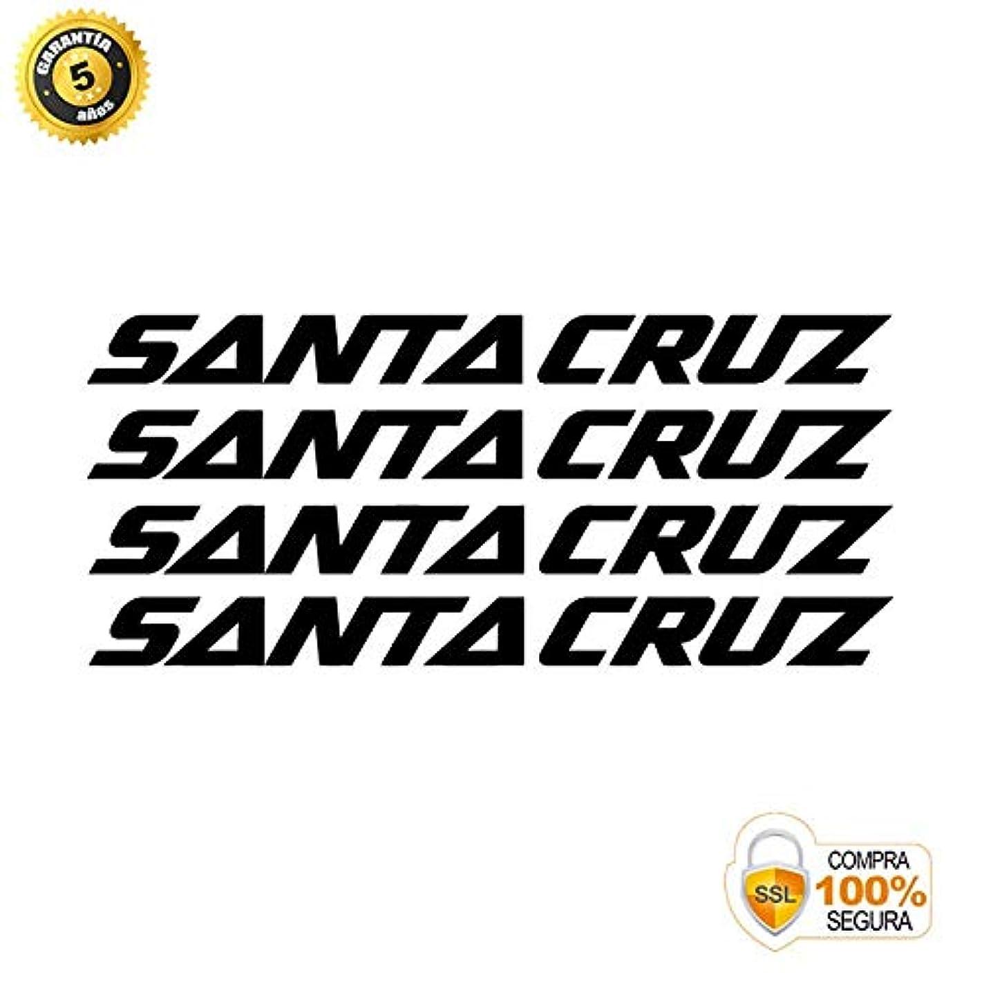 言うそばに投票ADHESIVOS MOTOS CLASICAS バイクステッカー - バイク装飾ステッカー - ビニール製バイクステッカーセット サンタクルーズ 4ステッカー 自転車フレーム 自転車 山