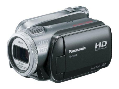 パナソニック デジタルハイビジョンビデオカメラ HS9 シルバー HDC-HS9-S