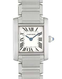 [カルティエ]CARTIER 腕時計 W51008Q3 タンクフランセーズ SM SS 白文字盤 クォーツ ブレスレット レディース [並行輸入品]