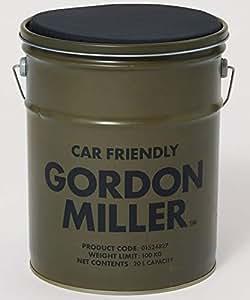 GORDON MILLER ペール缶スツール 20l チェア 椅子 スタッキング アウトドア キャンプ 収納 ガレージ 洗車 DIY 工具入れ OD カーキ 1524827