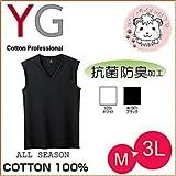 スリーブレスシャツ 10枚セット グンゼ GUNZE YG ワイジー COTTON コットン100%シリーズ ノースリーブ M L LL 3L