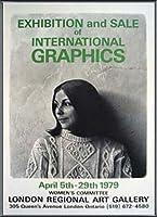 ポスター ケン ダンビー International Graphics 1979 額装品 アルミ製ベーシックフレーム(ブラック)