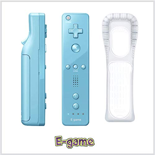 【E-game】 Wii リモコンコントローラ アオ Wii...