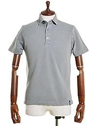 Drumohr ドルモア [春夏] ポロシャツ 半袖 鹿の子 ガーメントダイコットン