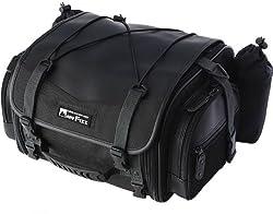 TANAX モトフィズ(Moto Fizz) ミニフィールドシートバッグ(ブラック)MFK-100