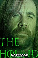"""Notebook: The Hound Poster , Journal for Writing, College Ruled Size 6"""" x 9"""", 110 Pages"""