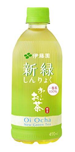 伊藤園 お~いお茶 新緑 470ml 1箱(24本)