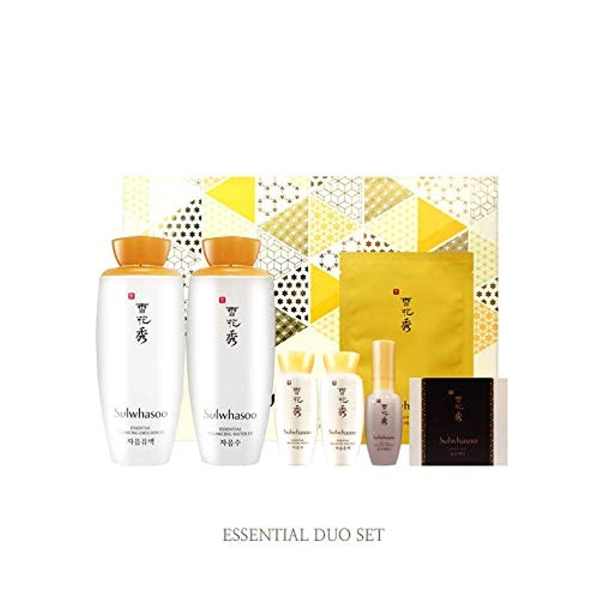 失業者教育患者雪花秀 [ソルファス] 滋陰 (ジャウム) EX 2種 エッセンシャル デュオ セット Sulwhasoo Jaum Essential Duo set (Essential Balancing Toner EX + Emulsion...